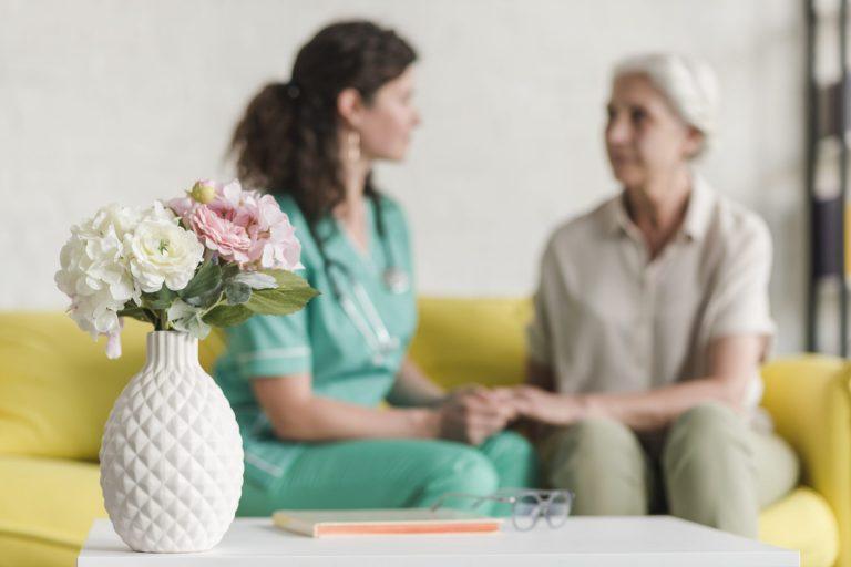 Alten und Pflegeheim